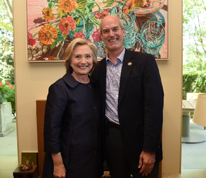 Standing with Hillary